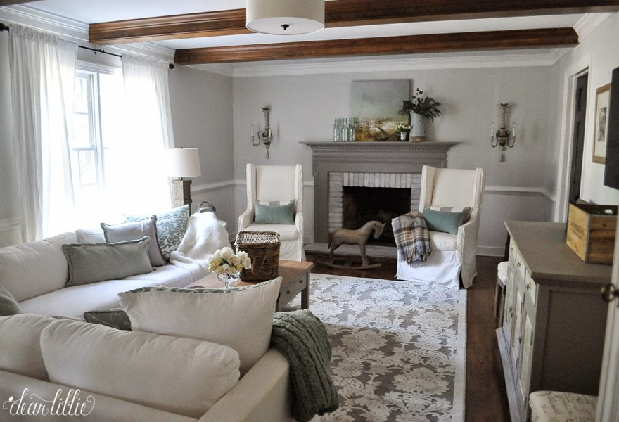 Last Spring We Moved The Rug That Was In Our Family Room Up To Guest I Loved But An Attempt Save Money Ordered A Size