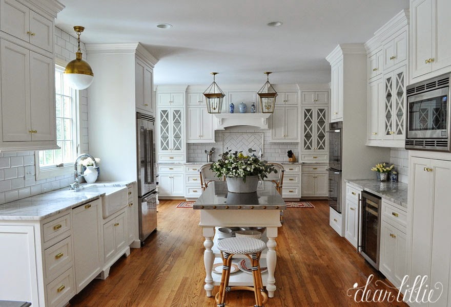 a classic and timeless white kitchen  dear lillie studio