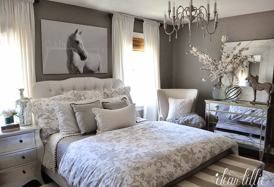 guest bedroom decorating ideas some artwork for our gray guest room dear lillie studio 15514