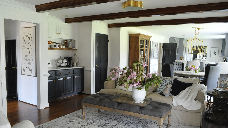 dear lillie finest dear lillie our kitchen makeover. Black Bedroom Furniture Sets. Home Design Ideas
