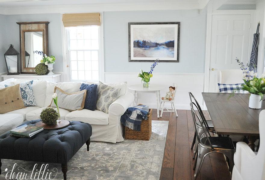 Bluestone Hill - Family Room and Kitchen - Dear Lillie Studio