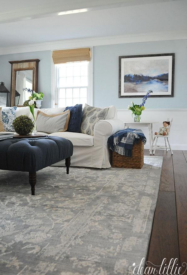 Bluestone Hill Family Room And Kitchen Dear Lillie Studio