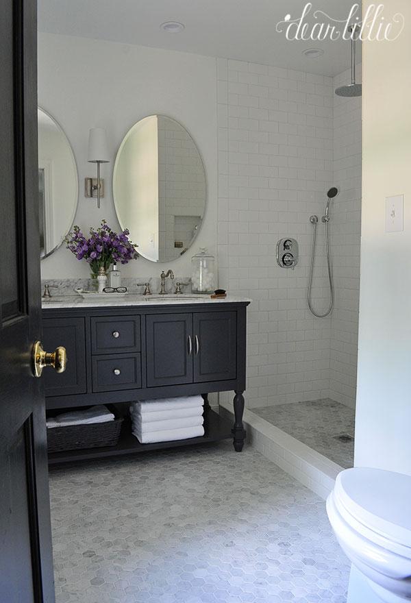 Jenni S Previous Home Master Bathroom Dear Lillie Studio