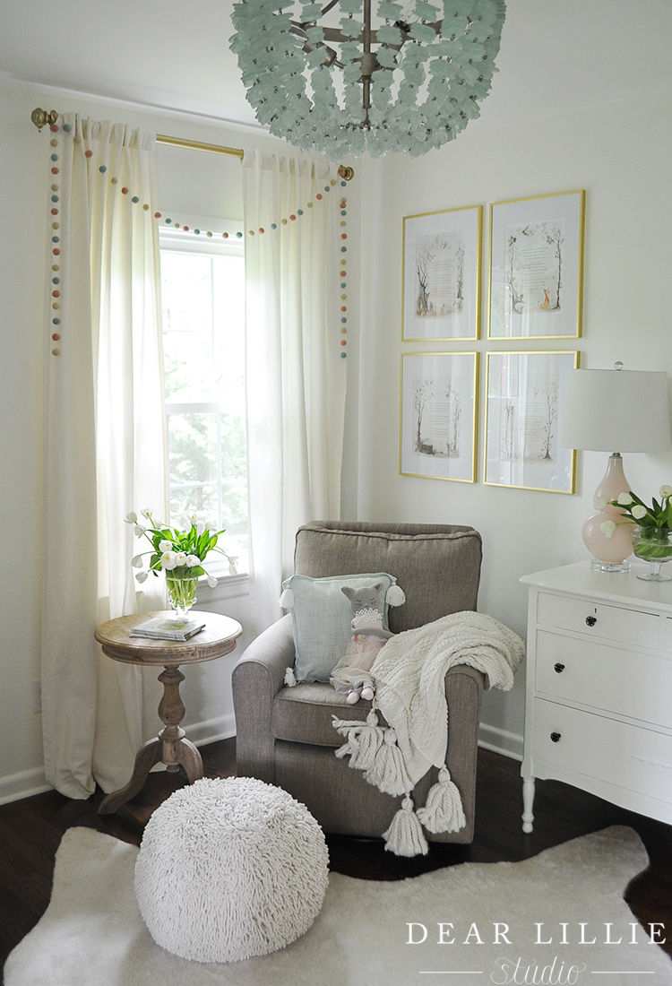 A Soft And Whimsical Nursery Dear Lillie Studio