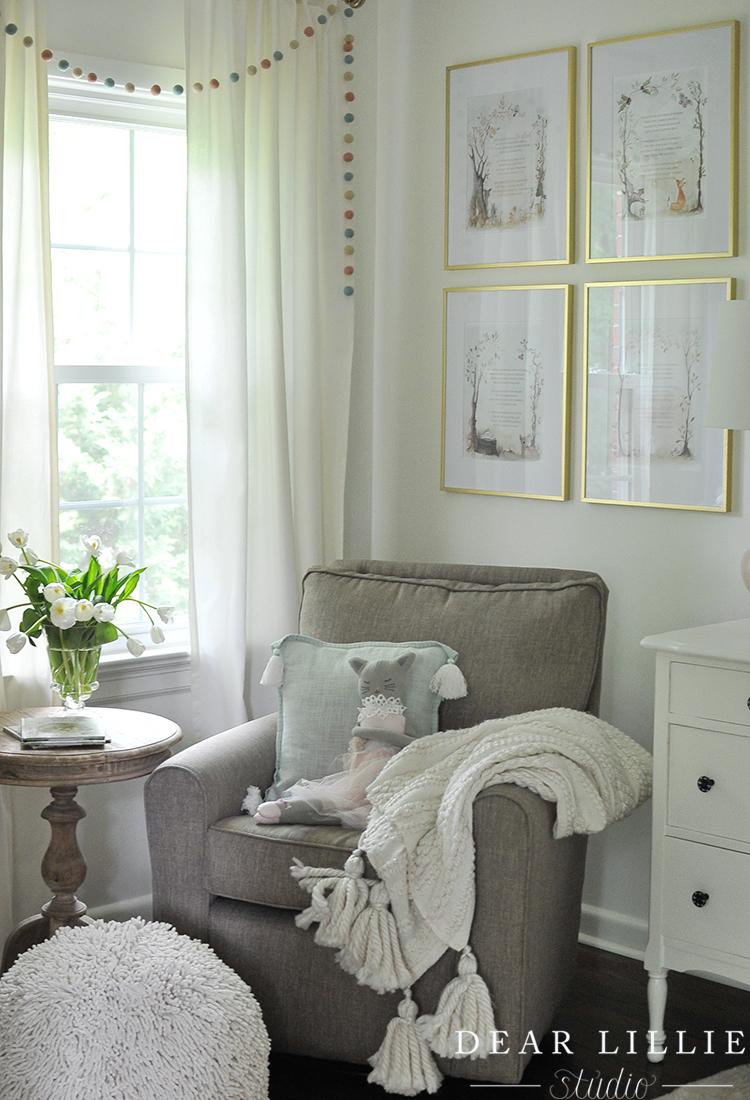 A Soft And Whimsical Nursery Dear Lillie Studio