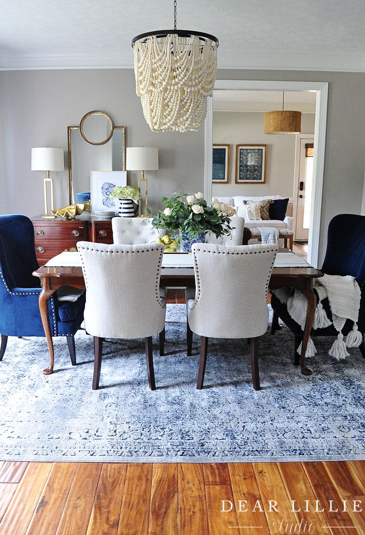 Classic Yorktown An Updated Dining Room Dear Lillie Studio