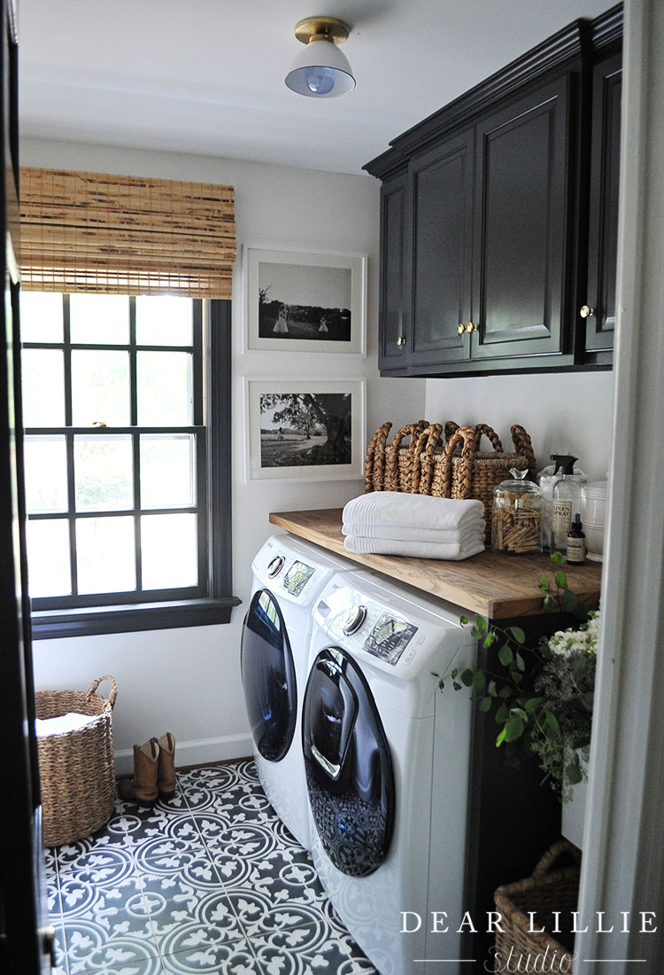 Adding Some Finishing Touches To Our Laundry Room Dear