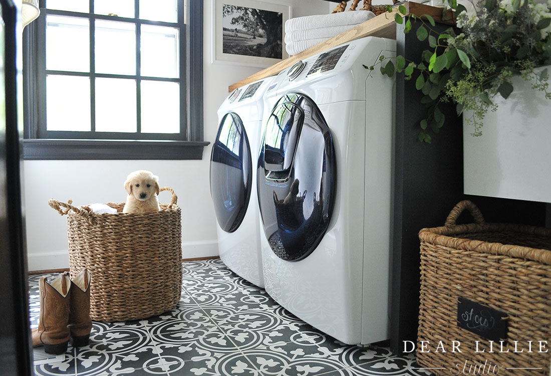 08 27 2017 Adding Some Finishing Touches To Our Laundry Room