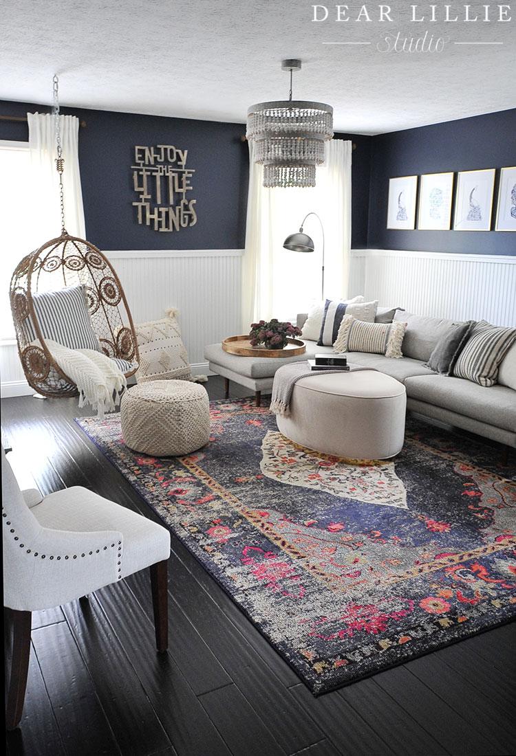 classic yorktown teen hangout room dear lillie studio. Black Bedroom Furniture Sets. Home Design Ideas