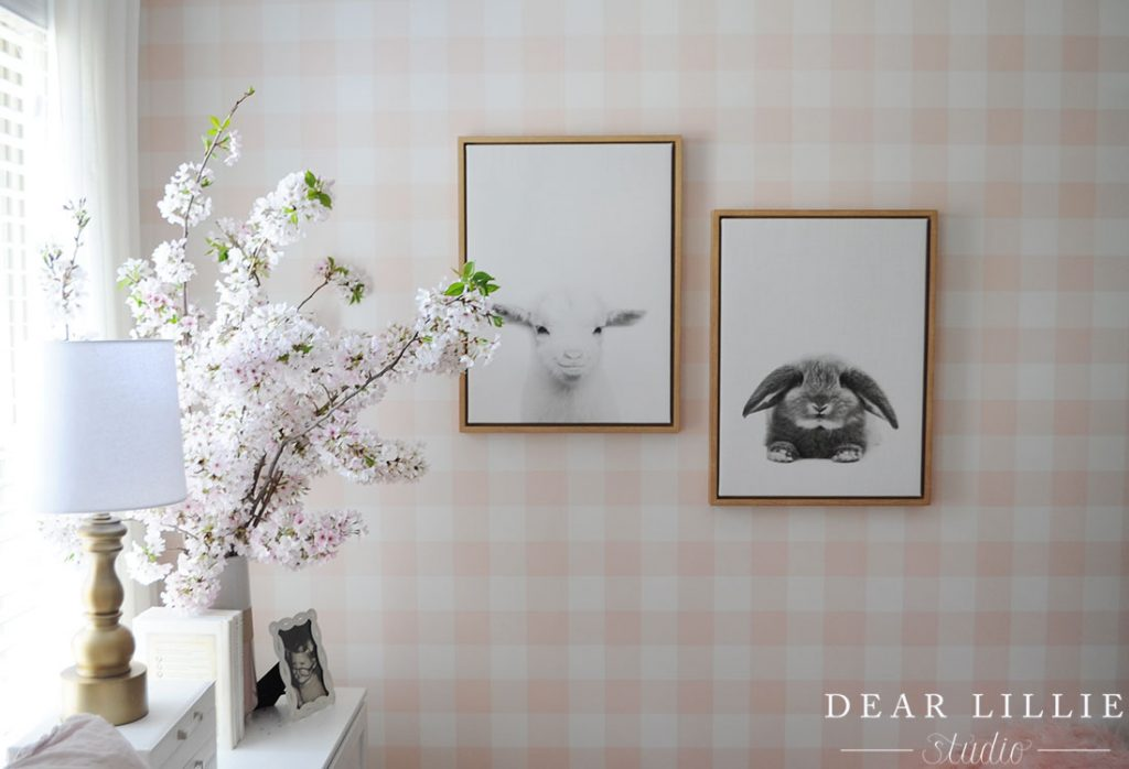 Some Spring Branches In Lillie S Room Dear Lillie Studio