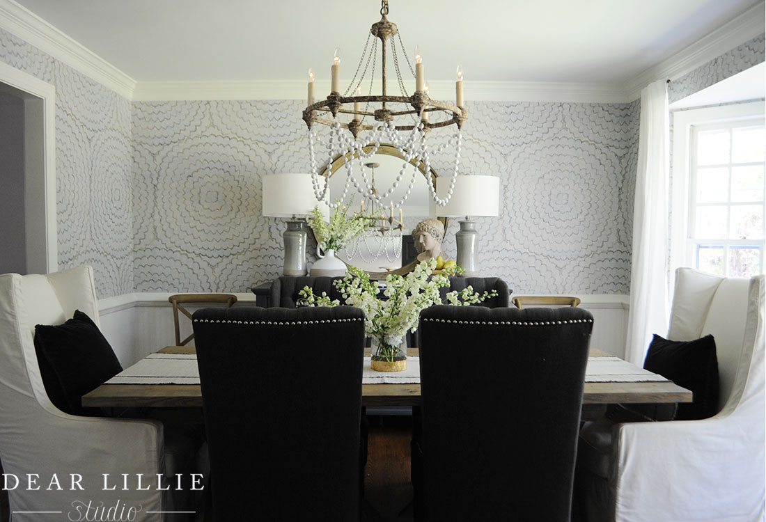A Bolder Look For The Dining Room Dear Lillie Studio