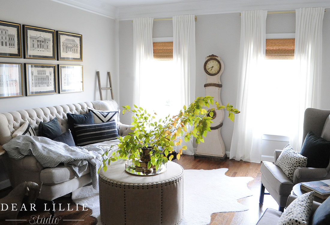 Adding Some Blinds In Our Living Room, Dining Room And Master Bedroom    Dear Lillie Studio