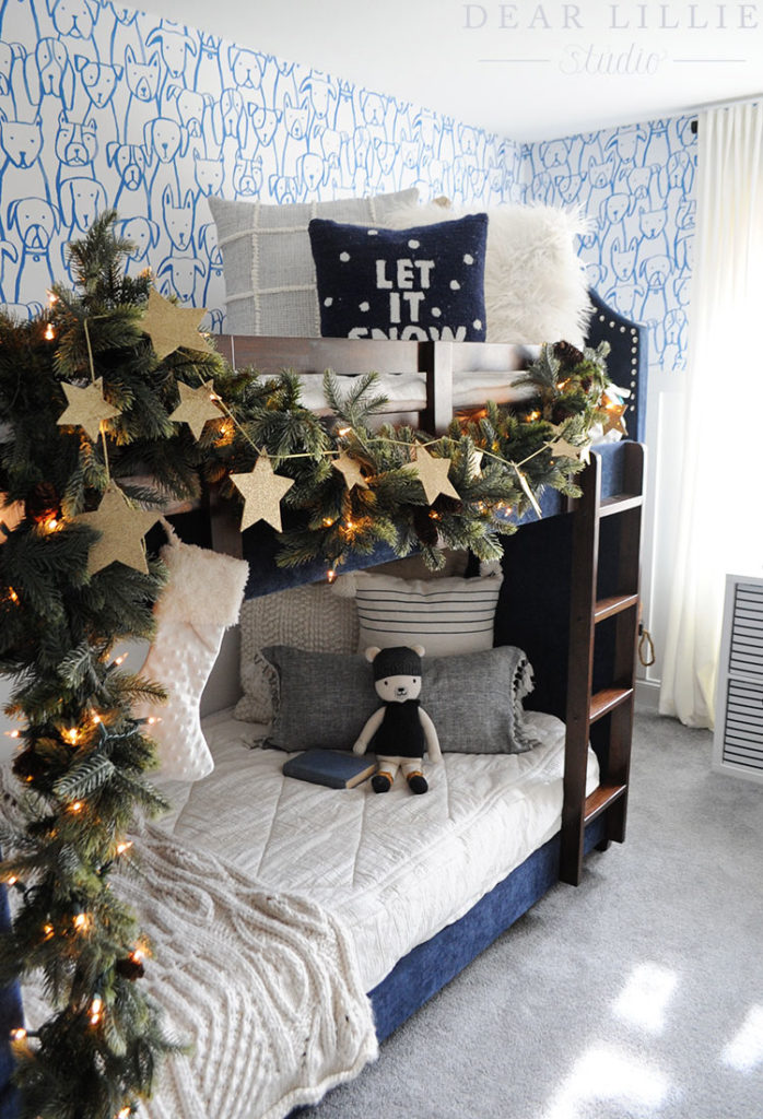 Lola S New Room With Some Christmas Touches Dear Lillie